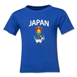 Japan Animal Mascot Kids T-Shirt (Royal)