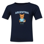 Argentina Animal Mascot Kids T-Shirt (Navy)