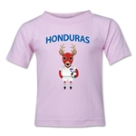 Honduras Animal Mascot Kids T-Shirt (Pink)