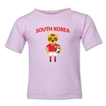 South Korea Animal Mascot Kids T-Shirt (Pink)