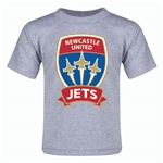 Newcastle Jets Toddler T-Shirt (Gray)