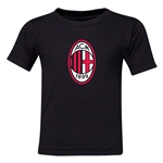 AC Milan Logo Toddler T-Shirt (Black)