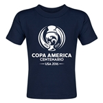 Copa America 2016 Single Color Emblem Toddler T-Shirt (Navy)