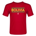 Bolivia Copa America 2016 Country Toddler T-Shirt (Red)