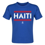 Haiti Copa America 2016 Country Toddler T-Shirt (Navy)