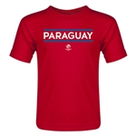 Paraguay Copa America 2016 Country Toddler T-Shirt (Navy)