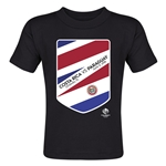 Costa Rica vs Paraguay Copa America 2016 Matchup Toddler T-Shirt (Black)