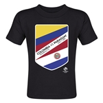 Colombia vs Paraguay Copa America 2016 Matchup Toddler T-Shirt (Black)
