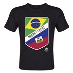Brazil vs Haiti Copa America 2016 Matchup Toddler T-Shirt (Black)