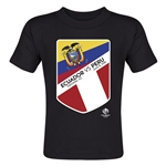 Ecuador vs Peru Copa America 2016 Matchup Toddler T-Shirt (Black)