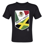 Mexico vs Jamaica Copa America 2016 Matchup Toddler T-Shirt (Black)