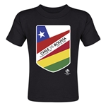 Chile vs Bolivia Copa America 2016 Matchup Toddler T-Shirt (Black)
