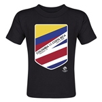 Colombia vs Costa Rica Copa America 2016 Matchup Toddler T-Shirt (Black)