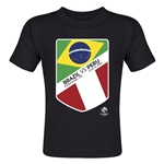 Brazil vs Peru Copa America 2016 Matchup Toddler T-Shirt (Black)