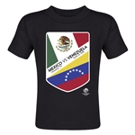 Mexico vs Venezuela Copa America 2016 Matchup Toddler T-Shirt (Black)