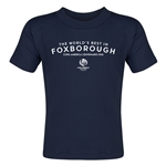Foxborough Copa America 2016 Host City Toddler T-Shirt (Navy)