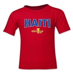 Haiti CONCACAF Gold Cup 2015 Big Logo Toddler T-Shirt (Red)