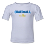 Guatemala CONCACAF Gold Cup 2015 Big Logo Toddler T-Shirt (White)