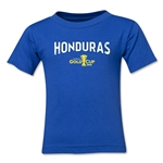 Honduras CONCACAF Gold Cup 2015 Big Logo Toddler T-Shirt (Royal)
