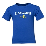 El Salvador CONCACAF Gold Cup 2015 Big Logo Toddler T-Shirt (Royal)