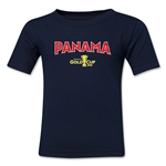 Panama CONCACAF Gold Cup 2015 Big Logo Toddler T-Shirt (Navy)
