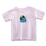 FIFA Beach World Cup 2013 Toddler Emblem T-Shirt (Pink)