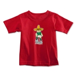 1970 FIFA World Cup Juanito Mascot Toddler T-Shirt (Red)