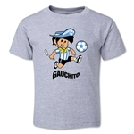 1978 FIFA World Cup Guachito Mascot Toddler T-Shirt (Gray)