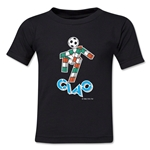 1990 FIFA World Cup Ciao Mascot Toddler T-Shirt (Black)
