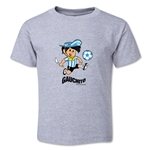 1978 FIFA World Cup Guachito Mascot Logo Toddler T-Shirt (Grey)