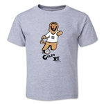 2006 FIFA World Cup Goleo VI Mascot Logo Toddler T-Shirt (Grey)
