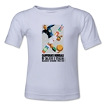 1934 FIFA World Cup Emblem Toddler T-Shirt (White)