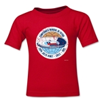 1962 FIFA World Cup Emblem Toddler T-Shirt (Red)