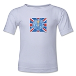 1966 FIFA World Cup Emblem Toddler T-Shirt (White)