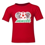 1986 FIFA World Cup Emblem Toddler T-Shirt (Red)