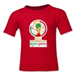 2002 FIFA World Cup Emblem Toddler T-Shirt (Red)