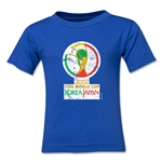 2002 FIFA World Cup Emblem Toddler T-Shirt (Royal)
