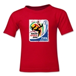2010 FIFA World Cup Emblem Toddler T-Shirt (Red)