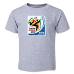 2010 FIFA World Cup Emblem Toddler T-Shirt (Grey)
