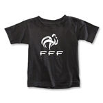 France FFF Toddler T-Shirt (Black)