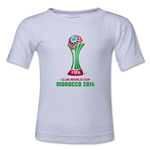 FIFA Club World Cup Morocco 2014 Toddler Official Emblem T-Shirt (White)