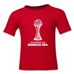 FIFA Club World Cup Morocco 2014 Toddler Official Emblem T-Shirt (Red)