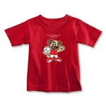 FIFA U-20 World Cup Turkey 2013 Toddler Mascot T-Shirt (Red)