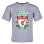 Liverpool Crest Toddler T-Shirt (Gray)