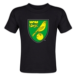Norwich City Core Toddler T-Shirt (Black)