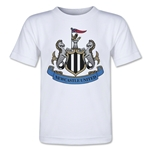 Newcastle United Crest Toddler T-Shirt (White)