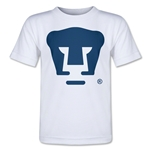 Pumas UNAM Core Toddler T-Shirt (White)