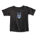 Carolina Railhawks Toddler T-Shirt (Black)