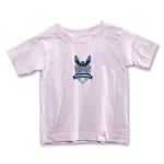 Carolina Railhawks Toddler T-Shirt (Pink)