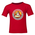 FC Santa Claus Core Toddler T-Shirt (Red)